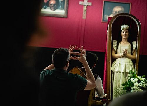 El Velatorio, un cortometraje de Aitor de Miguel producido por Harmonica Films